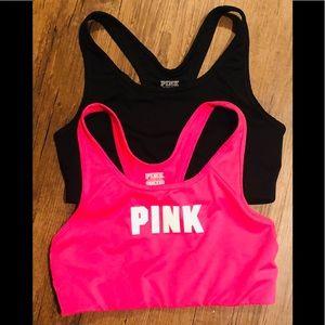 Victoria's Secret medium set of 2 sports bras